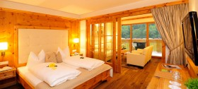 Suite des 4 Sterne Hotel Reiterhof Sulfner in Hafling bei Meran