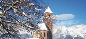Weihnachtsurlaub in Hafling, Südtirol
