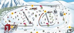 Luckis Kinderland im Skigebiet Meran 2000 - ein Traum für Kinder