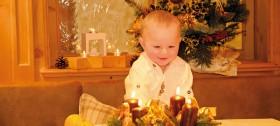 Weihnachtsgrüße aus dem Hotel Sulfner in Hafling