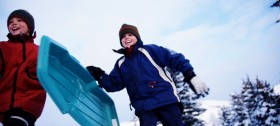 Winterurlaub mit Kindern in Meran 2000