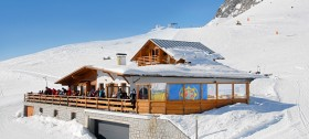 Einkehrmöglichkeit im Skigebiet Meran 2000
