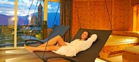 Entspannen im Ruheraum des Hotel Sulfner