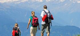 Das Wandergebiet Meran 2000 um Hafling beherbergt unzählige, schöne Wanderwege
