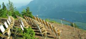 Erleben Sie die fantastische Aussicht beim Knottnkino in Südtirol